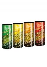 Цветной дым - комплект из 4 штук (Польша, 40 секунд)