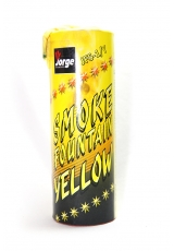 Цветной дым желтого цвета (Польша, 40 секунд)